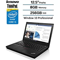 Lenovo ThinkPad X260 Business Laptop-12.5 IPS Anti-Glare,Intel Core i5-6300U Processor up to 3.00 GHz 256GB SSD, 8GB DDR4 W/Backlit Keyboard FP Reader,Professional Business Ultrabook Laptop Computer