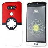 BRILA-LG-G5-Pokemon-Funda-Poke-Ball-Style-para-LG-G5-LG-G5-Pokemon-Go-mvil