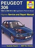 Peugeot 306 Petrol and Diesel Service and Repair Manual: 1993 to 2002 (Haynes Service and Repair Man by Mark Coombs (2005-05-04)