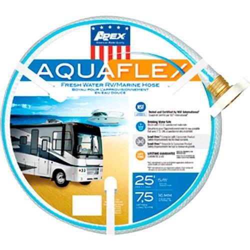 Teknor Apex 8503-25 RV Trailer Camper Fresh Water Aquaflex Water Hose 5/8'' X 25' by Apex