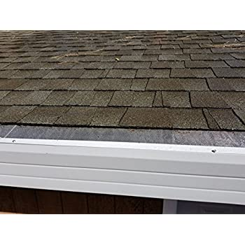 SAMPLES: LeafsOut Micro Mesh DIY Install It Yourself Rain Gutter Guard  (NoLeafs)