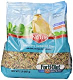 Kaytee Forti Diet Pro Health Bird Food for Canaries, 2-Pound Bag