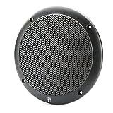 PolyPlanar 6'' 2-Way Coax-Integral Grill Marine Speaker - (Pair) Black