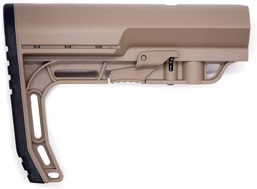 XFC-Stocks, Deportes al Aire Libre CS Juego táctico de Nylon for MFT Butt Modle Gel Bola AEG for Airsoft Pistolas de Aire M4 AK J8 J9 Paintball Accesorios (Color : Sand)