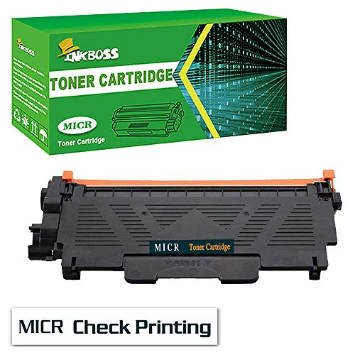 InkBoss Compatible 1 Black MICR Toner Cartridge Replacement for Dell E310dw Printer Toner Cartridge, for Check Printing