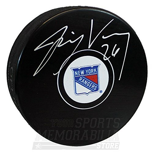 Jimmy Vesey New York Rangers Signed Autographed Rangers Hockey ()