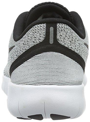 Nike Free Run - Zapatillas de Entrenamiento Unisex Niños Blanco (White / Black)