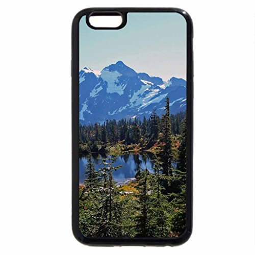 iPhone 6S / iPhone 6 Case (Black) Mount Baker
