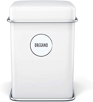para tarros de especias resistentes al agua 38 mm 130 etiquetas adhesivas para especias pegatinas de especias etiquetas autoadhesivas redondas latas y estantes negro transparente