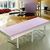 LWZY Linens Massage table sheet,waterproof sheets,spa linens,set of 2, beauty bed sheets/sheet-C 116x200cm(46x79inch)