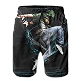 Men's Swim Trunks Hip Hop Dance Quick Dry Summer Casual Cool Beach Board Shorts Vacation Surfing Bathing Suit