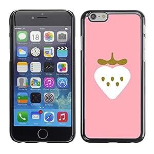 Caucho caso de Shell duro de la cubierta de accesorios de protección BY RAYDREAMMM - Apple iPhone 6 - Gold Bling Heart