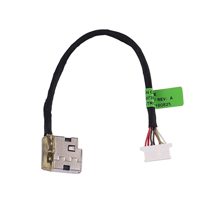 ed2a6061553 Repuestos para celulares iPartsBuy para HP Pavilion 15/15-ac y Envy 15/15-ae  DC Power Jack Connector Flex Cable Repuestos para celulares: Amazon.es: ...