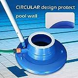 """Pool Leaf Vacuum, 15"""" Large Pool Leaf Sucker with"""