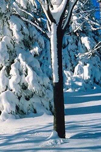 Read Online Winter Theme Journal Snow Covered Evergreens: (Notebook, Diary, Blank Book) (Seasonal Winter Photo Journals Notebooks Diaries) ebook