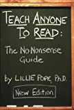 img - for Teach Anyone to Read: The No-nonsense Guide book / textbook / text book