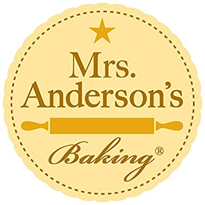 Mrs. Anderson's Baking Non-Stick Silicone Half-Size Baking Mat, 11.625-Inch x 16.5-Inch, Set of 2