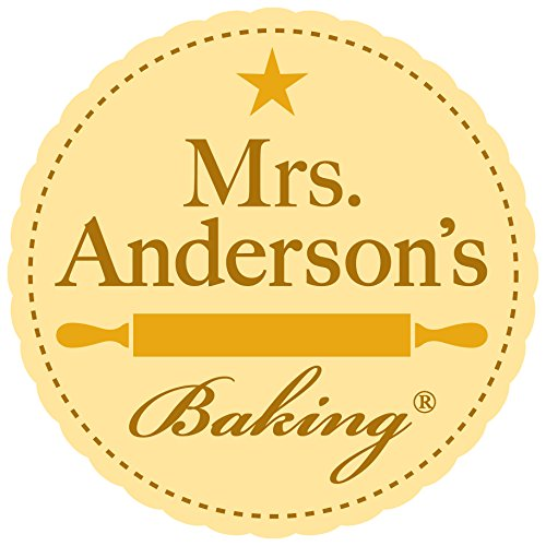 Mrs. Anderson's Baking Nonstick Double Baguette Pan, Non-Stick Carbon Steel, FDA Approved; 15.375-Inches x 6.25-Inches