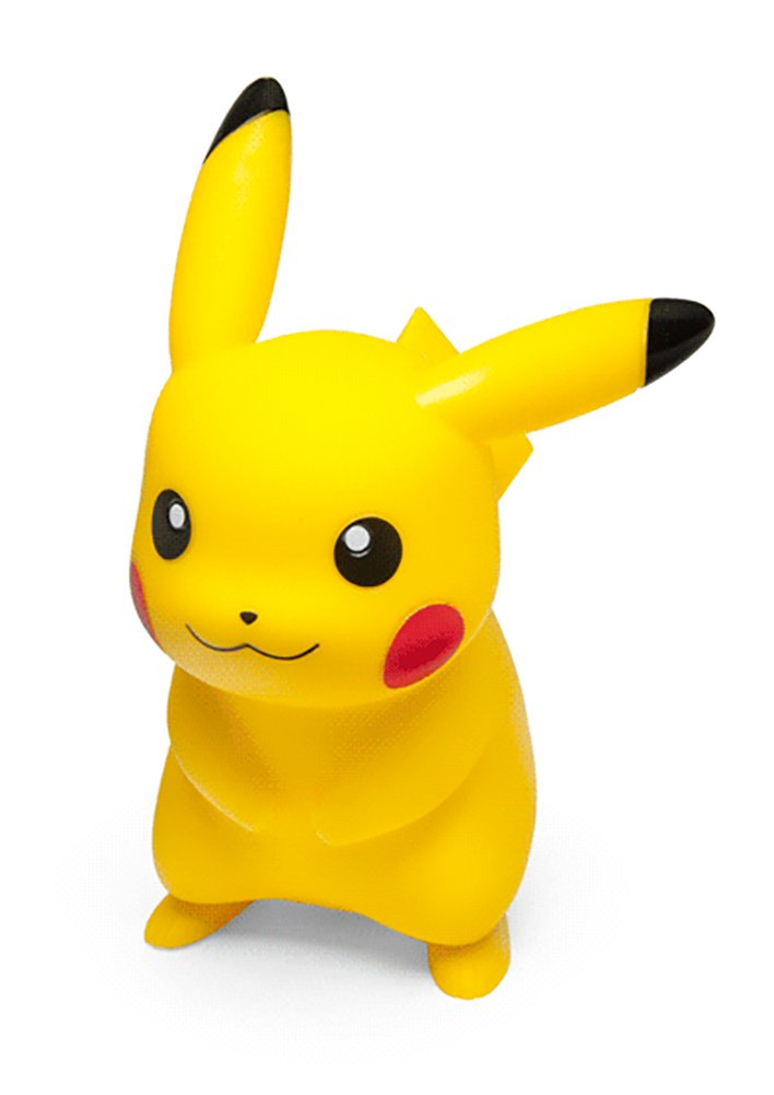 ThinkGeek Pokemon 7-Inch Light-Up Pikachu Lamp - Officially-Licensed Pokemon Merchandise - Perfect for any Pokemon Trainer Ages 6 and Up