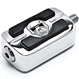 NEW Chrome Skull Skeleton Shifter Shift Peg Cover For 1987-2015 Harley Davidson Street Bob/Fat Bob