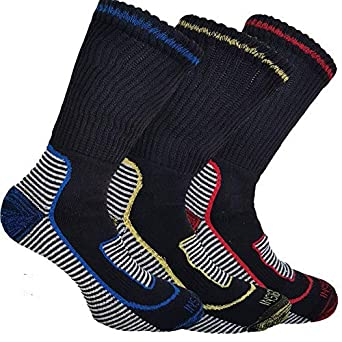 12 Pairs Aust 6-11 Navy Cotton Cushion Foot Work Socks Men's Clothing Socks