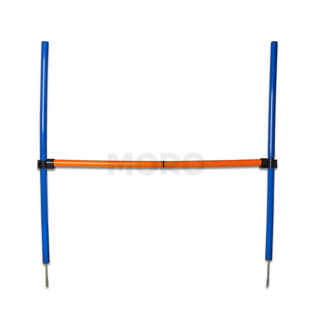 ZOIC Pet Dogs Outdoor Games Agility Exercise Training Equipment - Jump Hurdle bar Obedience Show Training For Doggie