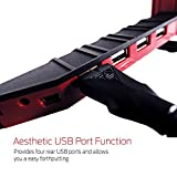 Gamdias AEGIS Gaming Accessory with Headset Holder, Aesthetic USB Port and Cable Management Function (GST1100)