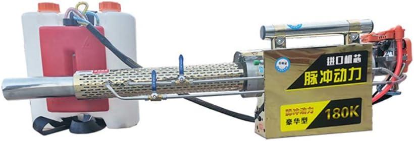 YZSL Pulso nebulizador térmico, pulverizador para el jardín de malezas, pulverizador de Alta presión para la desinfección en un Lugar público, nebulización de Agua y el Humo de Doble propósito