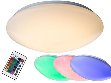 14 Watt RGB LED Decken Leuchte Farbwechsel Lampe dimmbar Wand Licht Bad Strahler