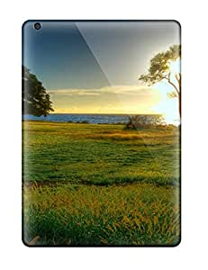 DeB5288EkdE Diamondcase2006 Awesome Cases Covers Compatible With Ipad Air - Sun Tree Sunset Field