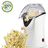 Best Hot Air Poppers - Popcorn Maker, Popcorn Machine, 1200W Hot Air Popcorn Review