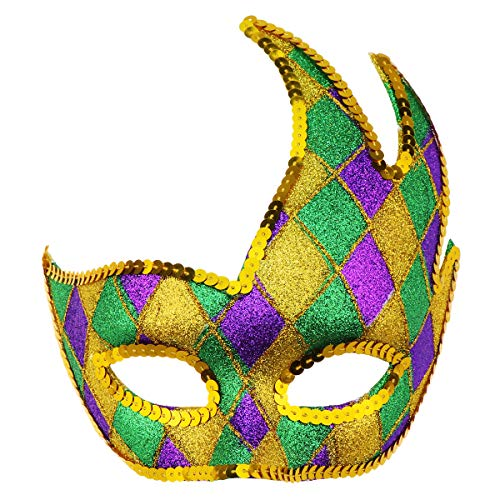 Masquerade Mask Venetian Party Mask Halloween Mask Costumes Mardi Gras Mask Party Accessory]()