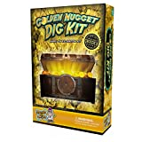 Dig for Gold Science Kit - Dig Up Real Pyrite Nuggets (Fool's Gold)