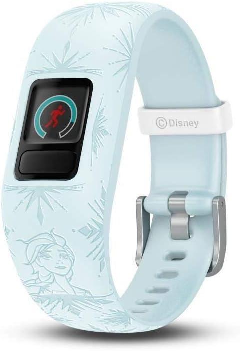 Garmin Vívofit Jr. 2-Bracelet d'Activité pour Enfants, Disney la Reine des Neiges 2 Elsa