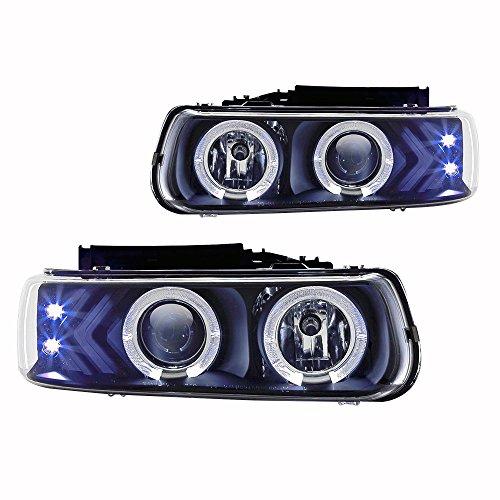1999 silverado halo headlights - 8