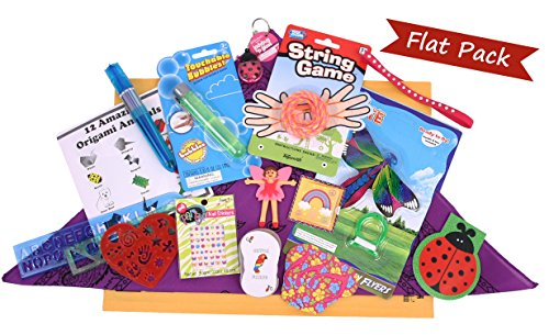 Girl's Deluxe Flat Pack - Summer Camp Care Package or Birthday Gift