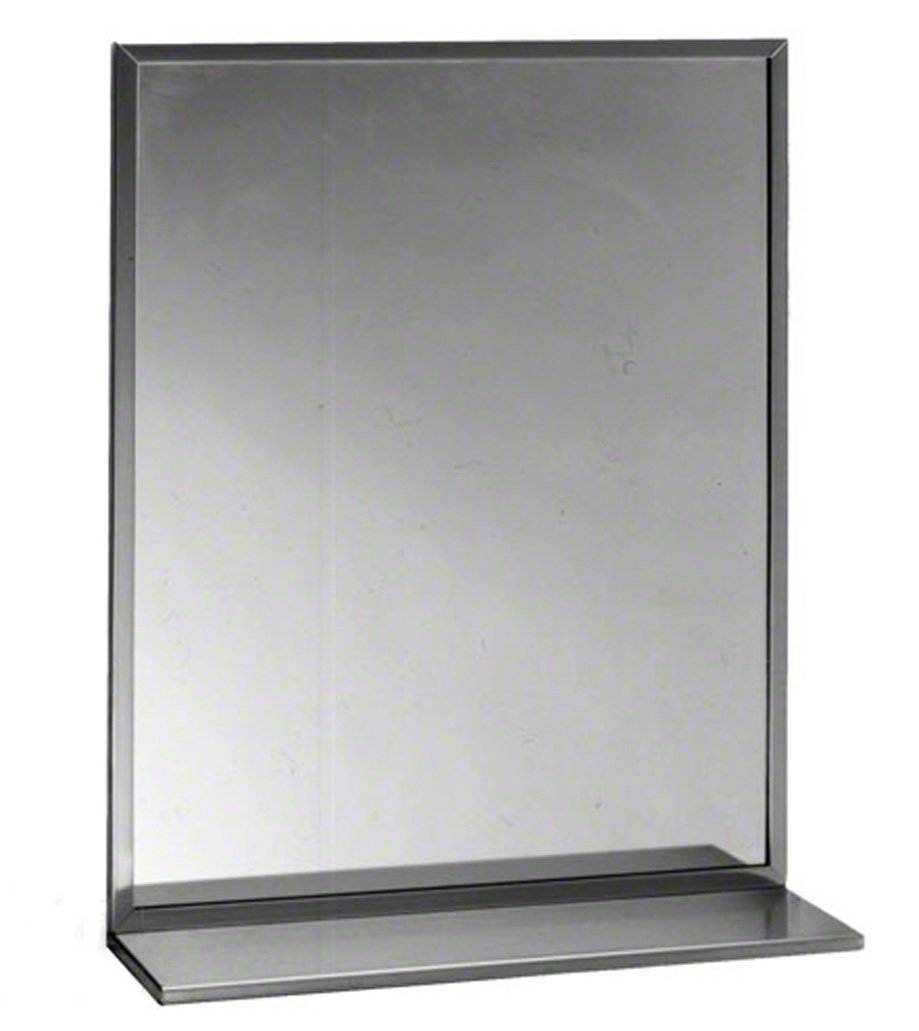 amazoncom bobrick b165 mirror stainless steel home improvement