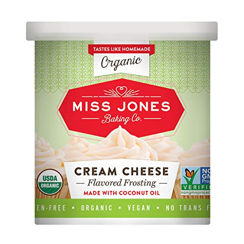 Miss Jones Baking Organic Frosting, Cream Cheese (Pack of -