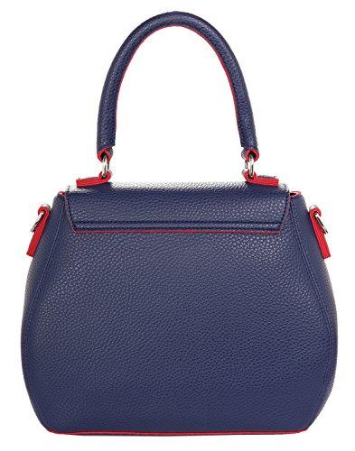 Jeans Handle Dark Plastica Navy Tango Borsa Pvc Armani Top Red Donna TdZwTqU