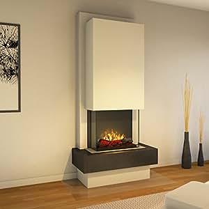 muenkel Diseño Milano - Chimenea eléctrica Opti de Myst Heat ...