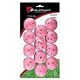 Orlimar Practice 12-Pack Balls Holes (Pink)