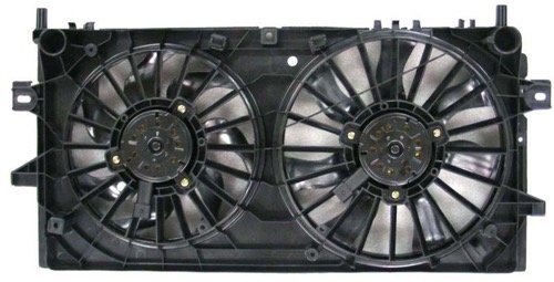 » Compatible 2005-2006 Pontiac Grand Prix Engine/Radiator Cooling Fan Assembly - (5.3L V8) Performance GM3115188 Replacement For Pontiac Grand Prix (5.3l Blade Cooling Fan)