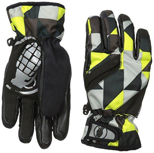 Grenade Boys Fragment Gloves, Small, Lime ()