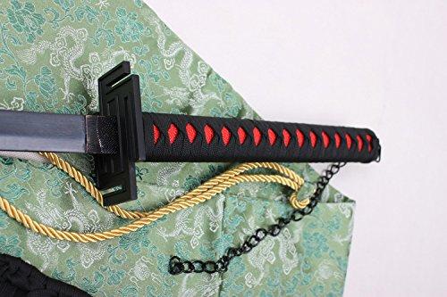 "S4185 ANIME BLEACH ICHIGO KUROSAKI TENSA ZANGETSU ZANPAKUTO SWORD STRAIGHT BLACK 41"""