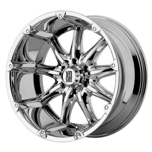 "XD-Series Badlands XD779 Chrome Wheel (20x9""/5x5.5"")"