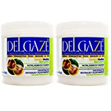 DELGAZE Natural Cream for Massage & Spa 16oz by BOE ''Pack of 2''