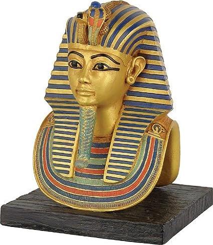 Máscara de tutankhamon Estatua, 16,51 cm H