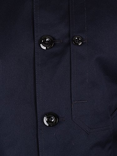 Garber star Trench Bleu Homme G coat I6UqvUdw