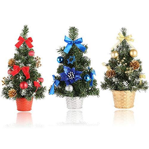 Mini Christmas Tree Decorated - 4