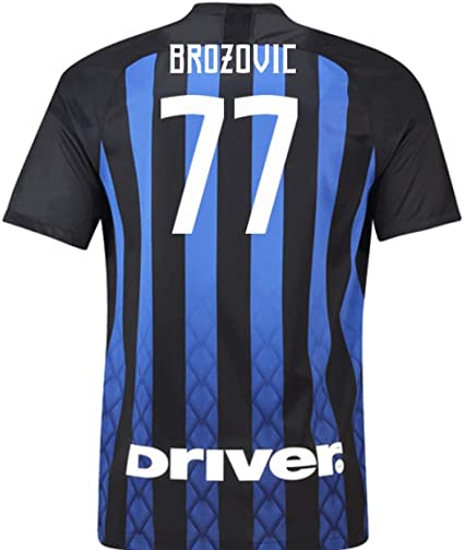 2018-19 Inter Milan Home Football Soccer T-Shirt Jersey (Marcelo ...